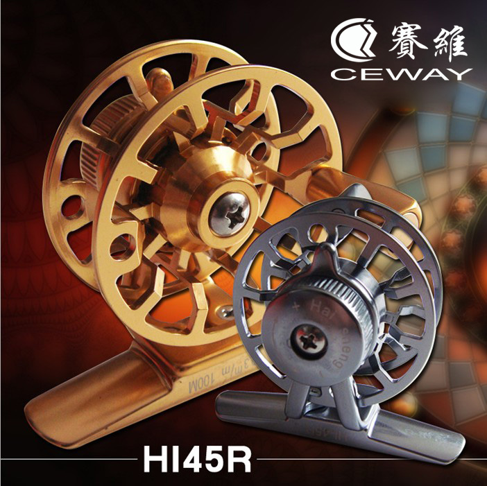 Winter Reel HI-45 CEWAY Todo Metal Fish Coil Fly Fishing Reels - Pescando