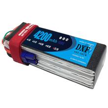 DXF 6S 22.2v 4200mAh 100C Max 200C lipo  For RC Aircraft Quadcopter Drones Helicopter Car Boat Airplane 6S Li-polymer AKKU