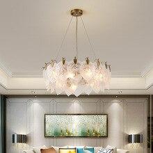 цена Postmodern LED pendant lamps Nordic Glass light living room suspended lighting Novelty home deco fixtures bedroom hanging lights онлайн в 2017 году