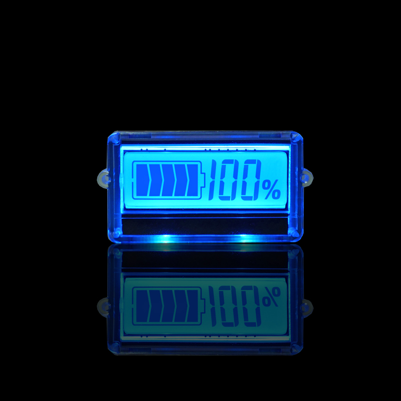 TH01 LCD 3S 12V Lithium Battery Capacity Indicator Blue Display Lead Acid Li-ion Remaining Power Detection Tester