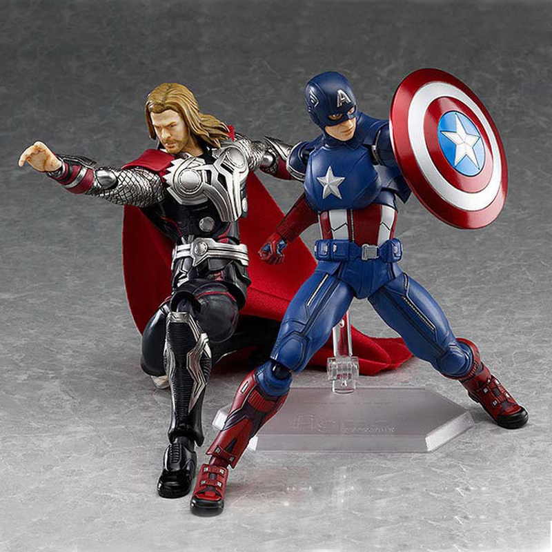 Marvel Movie The Avenger Action Figure Hero Movable Model Ornament Thor Vinyl Desk Collectible Figurine 2018 Gift For Lover Boys action toys x man apocalypse movie action figure magneto x men en sabah nur collectible movable birthday gift 16cm