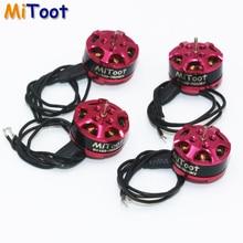4pcs/lot Mitoot 1103 7800kv 2 3s Mini Brushless Motor for RC 80 90 100 mm 120mm Mini Multirotor Drone