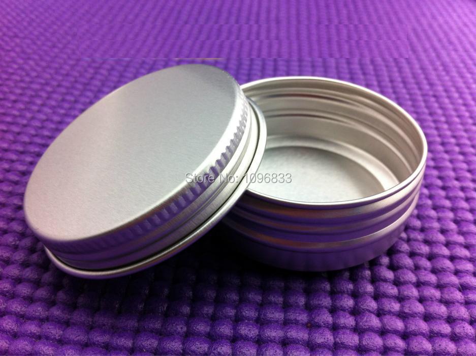 30g Aluminum Cosmetic Cream Jar 30ml Empty Aluminum Jar Metal Box 30g Aluminium Can Tins Container