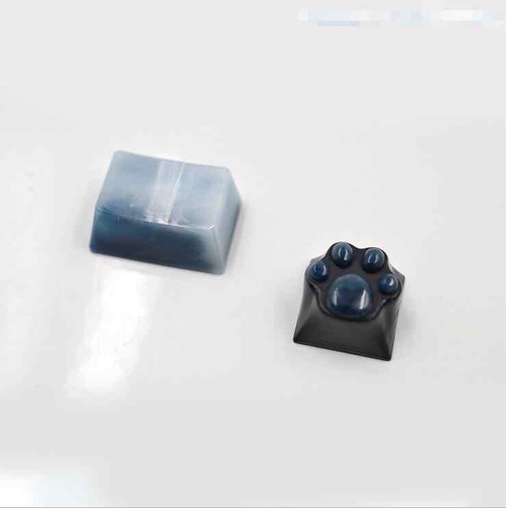 Новый силиконовый кулон формы сушеный цветок смолы декоративные ремесло DIY кошачий коготь клавиши клавиатуры формы эпоксидной смолы формы для ювелирных изделий