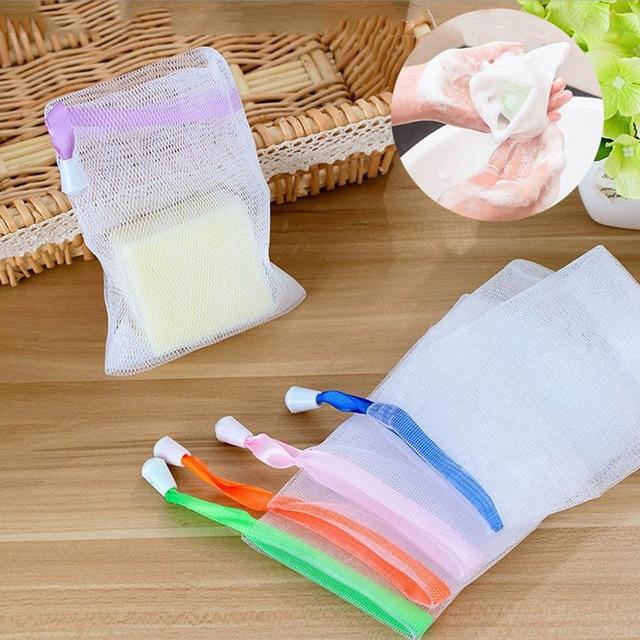 1 pz Corpo Bagno All'ingrosso Viso Schiuma Detergente Per Lavare Doppio Strato B
