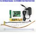 HDMI Placa Controladora + Inversor + 30 P Cabo Lvds + Kit adaptador para LP154WX4 TLA1/TLB4/TLC3/TLC8 1280x800 1ch LCD de 6 bits painel