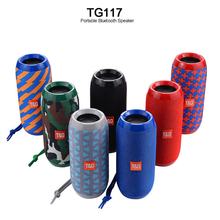 Wireless Bluetooth Speaker Outdoor Column Waterproof Stereo Subwoofer Bass Loudspeaker Portable Boombox Support TF FM Radio outdoor high power wireless bluetooth speaker portable charging cannon bass subwoofer for dust proof tf card fm radio speakers