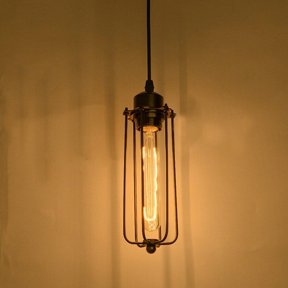 Popular metal lamp shade buy cheap metal lamp shade lots for Suspension luminaire cage