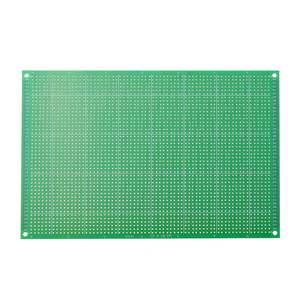 Image 3 - 10pcs/set  12x18cm FR 4 2.54mm Single Side DIY Soldering Prototype PCB Printed Circuit Board