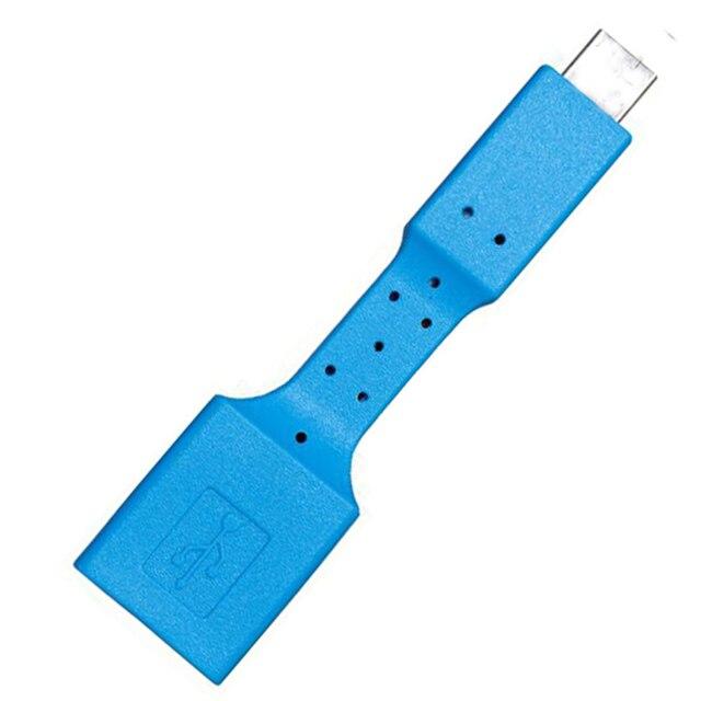 USB 3.1 Micro B Zu USB 3.0 Typ A Stecker-zu-Weibliche OTG Daten Stecker Kabel Adapter Sync Ladegerät Lade