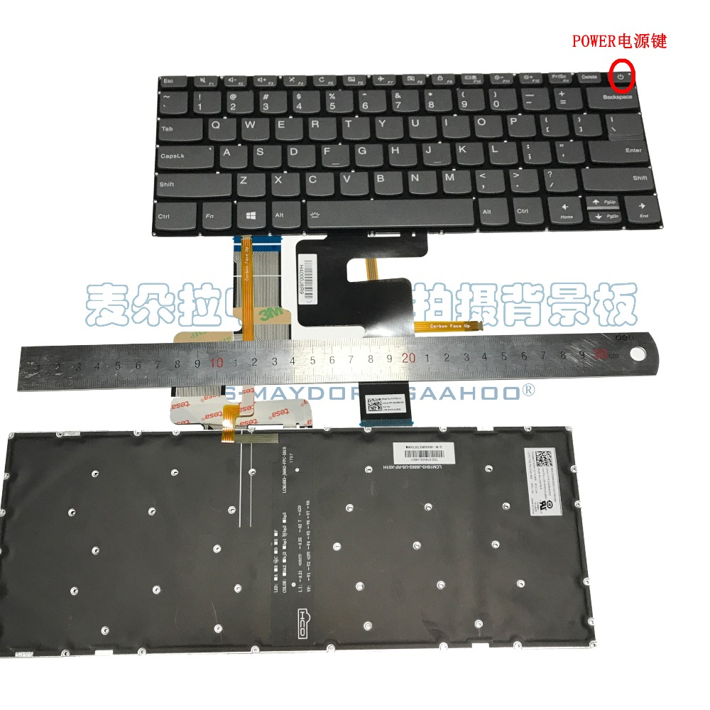 Laptop keyboard for LENOVO YOGA120S 14IAP 320S 14IKB 520S