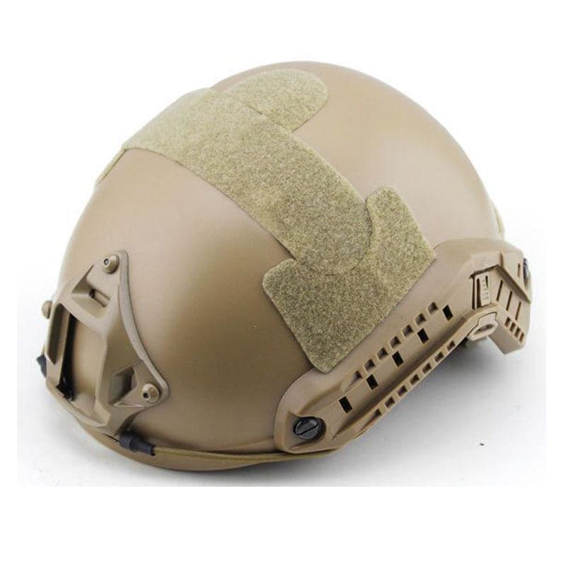 Casque tactique couverture rapide Casco Airsoft casques saut rapide protection militaire Sports chasse accessoires Paintball