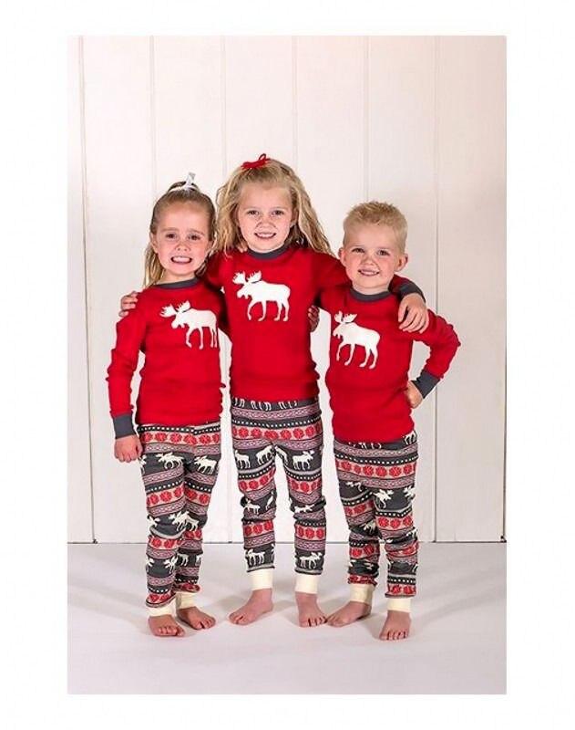 Семейный Рождественский пижамный комплект, теплые взрослые дети девочки мальчик, мама, одежда для сна, одежда для сна для мамы и дочки, одинаковые комплекты для семьи