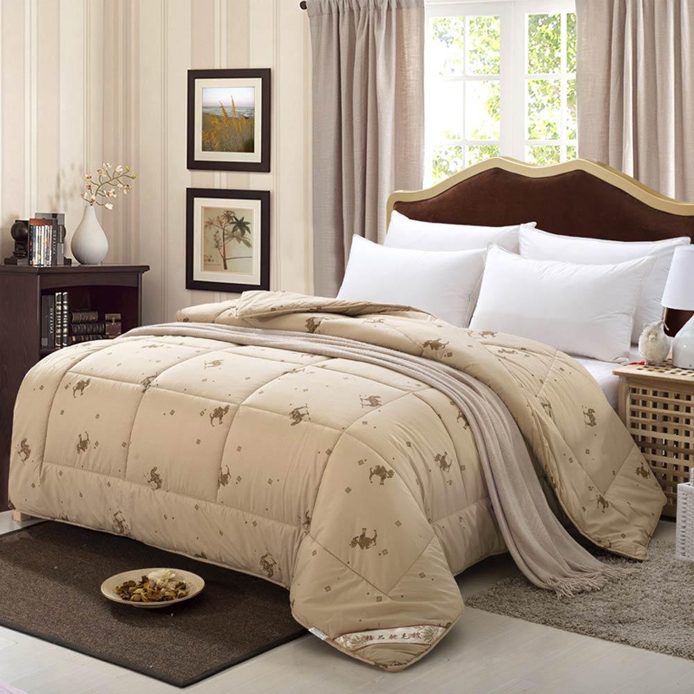 Svetanya stepp Decke winter Quilt 100% kamel haar Füllstoff-in Decken aus Heim und Garten bei  Gruppe 2