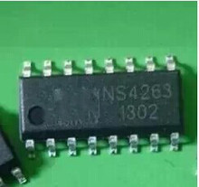 Free shipping 10pcs/lot NS4263 SMD 3W dual channel Class AB Class D switching audio amplifier new original(China)