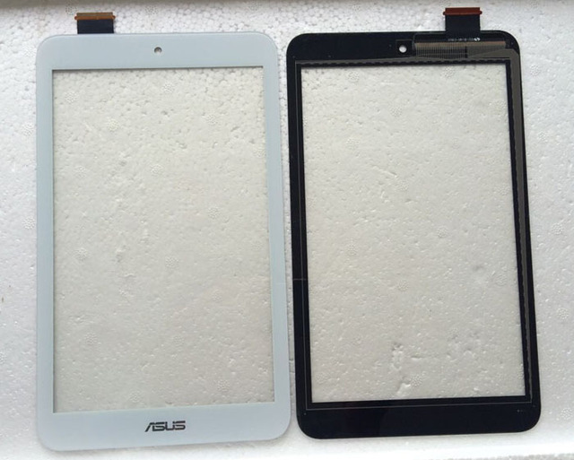 Touch Screen Sensor Digitizer Glass Panel Replacement  For Asus MeMO Pad 8 ME180 ME180A K00L black and white , free shipping