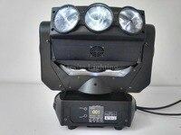 Frete grátis (2 pçs/lote) 9 pcs 12 w rgbw dj levou feixe de luz em movimento da cabeça