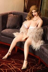 Image 2 - Ailijia 152 centimetri Big ass con il seno Grande bambola del sesso Pieno TPE Con lo scheletro In Metallo Ue Adulto bambola di Amore Grande glutei sexy
