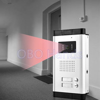 Waterproof Intercom System Video Door Phone Outdoor Camera With Two Control Buttons IR Night Vision For