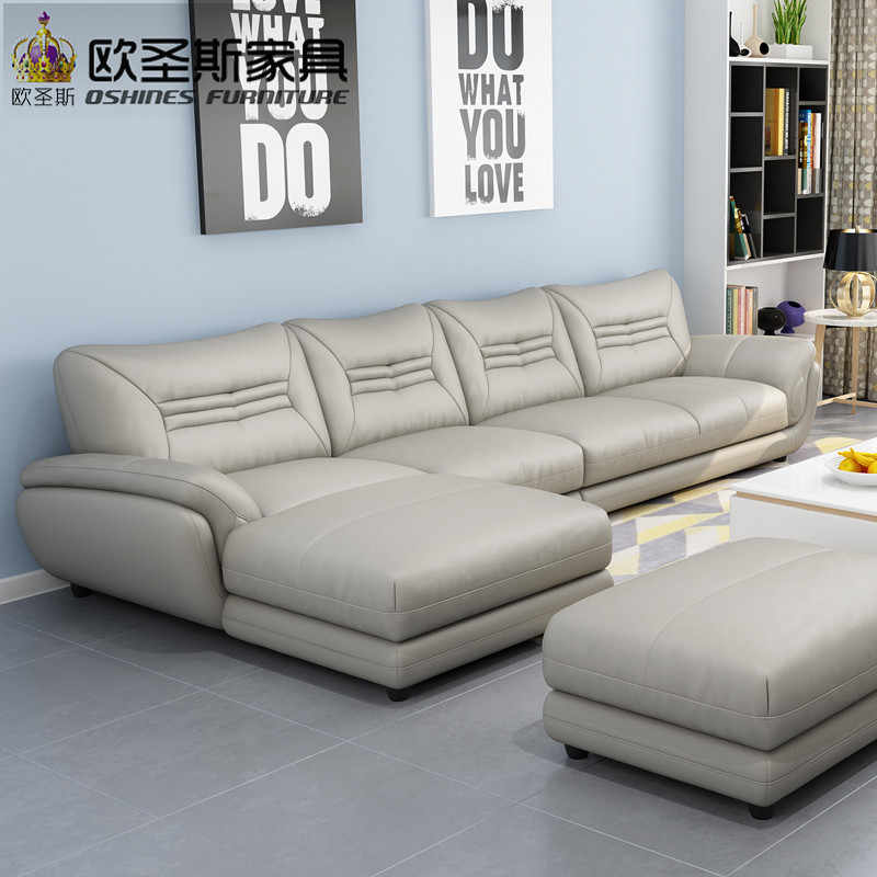 Turkish Sofa Furniture Black And White Modern L Shaped Corner Shiny Leather  Sectional Sofa Set Designs For Drawing Room 621