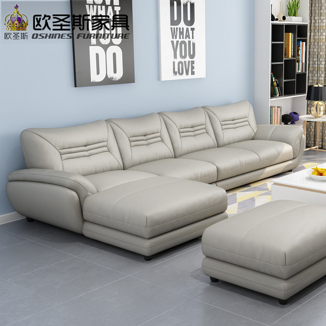 Turkish Sofa Furniture Black And White Modern L Shaped Corner Shiny