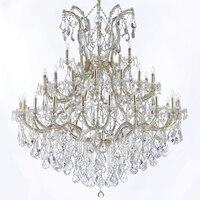 Hotel lobby lustre maria theresa lustres de cristal grande luxo pendurado lâmpadas iluminação luz para casa com cristais k9 hotel lobby chandelier maria theresa maria theresa -
