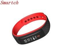 Smartch W810 смарт-браслет монитор сердечного ритма Sport Band IP67 Waterpoof жест Управление умный Браслет Деятельность трек для и