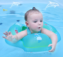 Baby Swimming Ring Kids Swimming Pool Accessories Circle Bathing Inflatable Double Raft Rings(China)