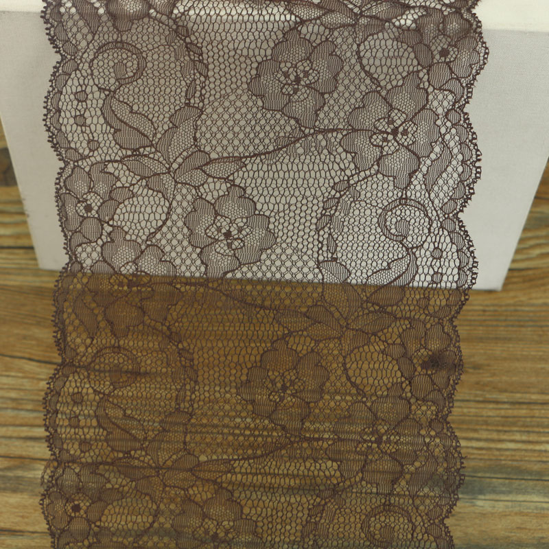 18cm Brown Lace Sewing Supplies, Garment Accessories