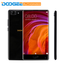 Doogee MIX 4G Phablet 4 GB RAM 64 GB ROM 5,5 zoll Android 7,0 Helio P25 Octa-core 2,5 GHz Metall Körper Front Fingerabdruck-dual-core-4000 kameras