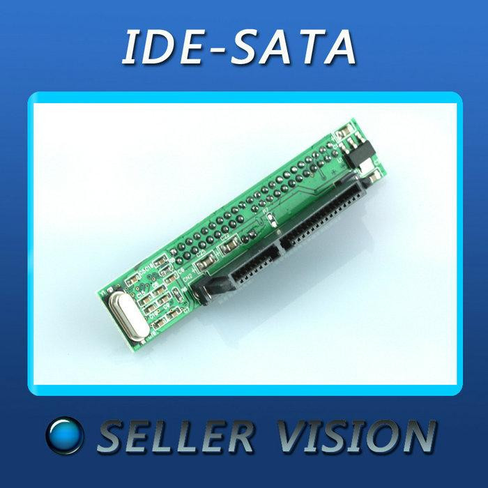 Free shipping NEW SATA Female to 44Pin 2.5 IDE Male HDD Sata to IDE Adapter Converter