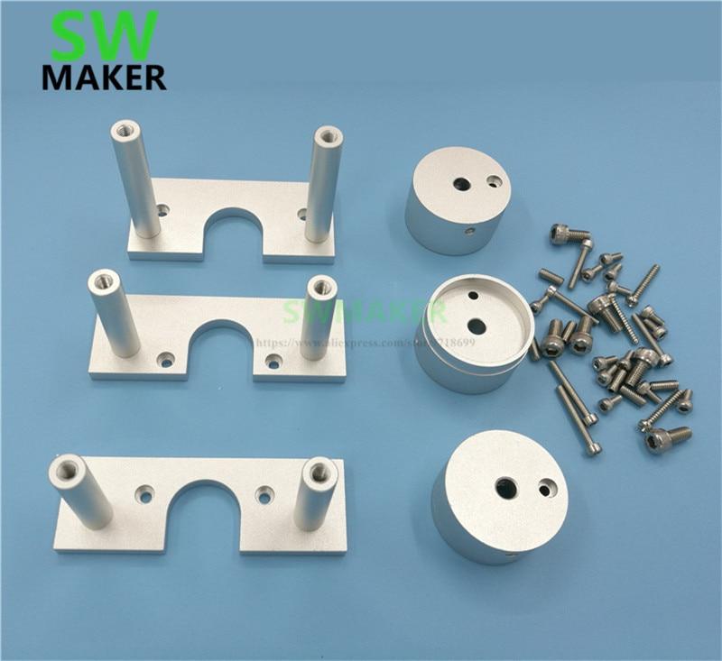 Kit de Conversão do Motor Kit de Montagem do Motor Swmaker Proxxon Máquina Nema23 Deslizante Passo Nema 23 Mf70 Cnc