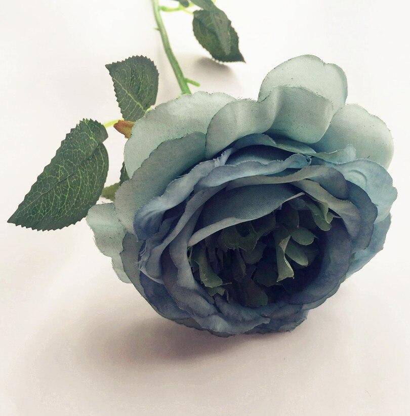 10pcs lažno oljno slikanje učinek Avstralija rose cvet mizo cvet - Prazniki in zabave - Fotografija 6