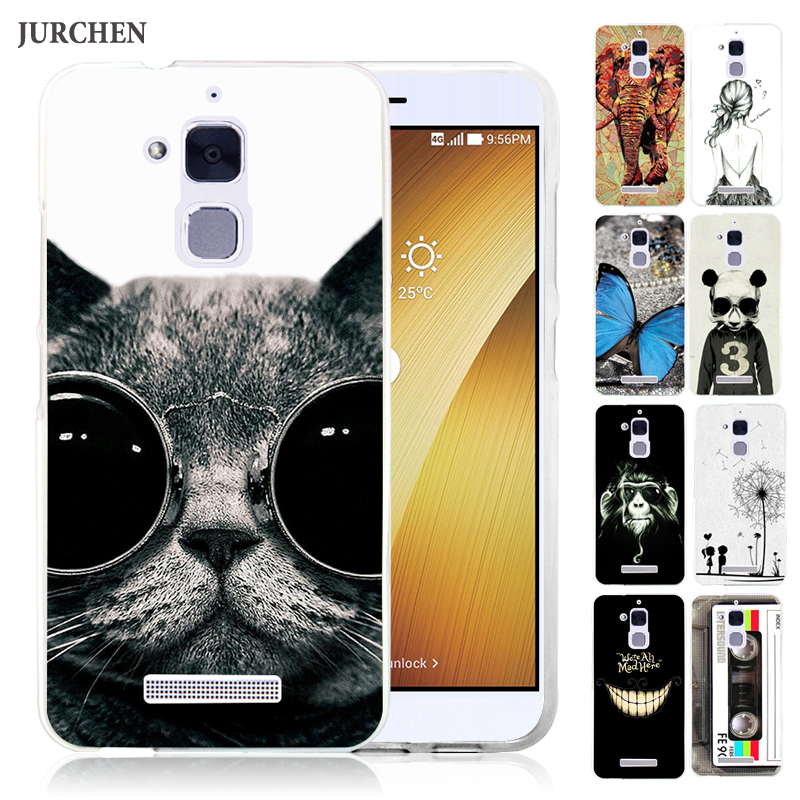 sneakers for cheap c16eb 8ffaf US $1.79 10% OFF|JURCHEN Case For ASUS Zenfone 3 Max ZC520TL Case For Asus  ZC520TL Zenfone 3 Max Case Cover Cute Cartoon Soft Silicone 5.2 inch-in ...