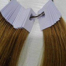 8 Inch Human Hair Color Ring For Salon Chart Light Brown Can Change Any
