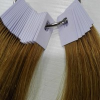 6inch Human Hair Color Ring For Salon Hair Color Chart Light Brown Color Can Change Any