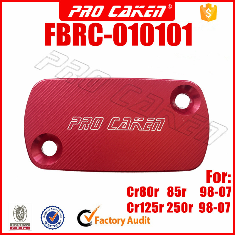 For Honda CRF150R 07-17 CR250 CR125 02-07 Front Rear Brake Master Cylinder Cover