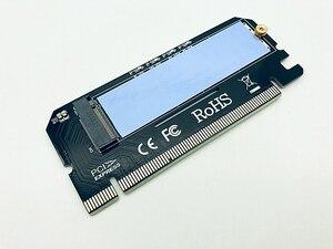 Image 3 - M.2 NVME بكيي إلى M2 محول LED NVME SSD M2 بكيي x16 التوسع بطاقة الكمبيوتر محول واجهة M.2 NVMe SSD NGFF إلى بكيي 3.0X16