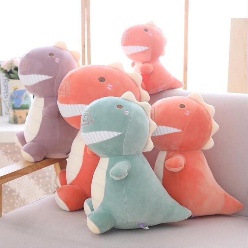 New Style Lovely Cartoon Little Dinosaur Plush Toy Stuffed Animal Doll Children Birthday Gifts