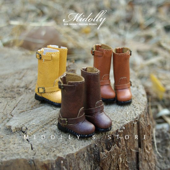 Free shipping High quality Handmade Wild locomotive boots Doll shoes,doll accessories for blythe Azone momoko licca gift toys кукла blythe azone momoko6 bjd