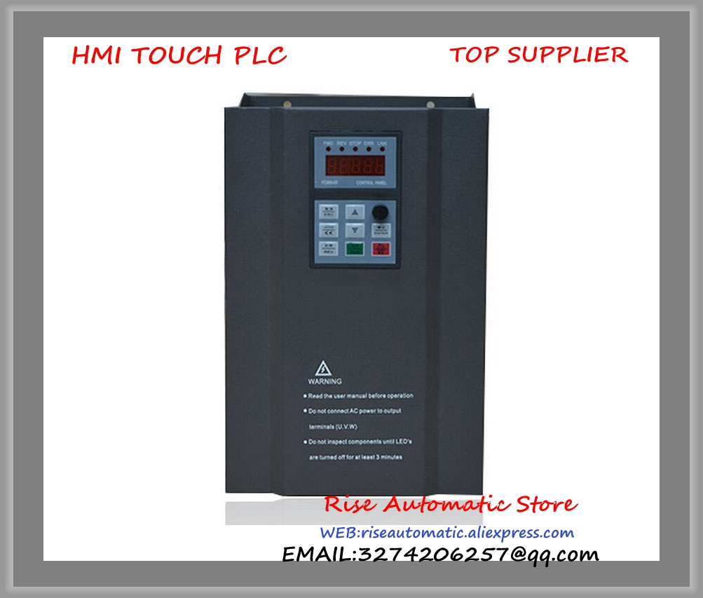 FC300-2.2G-T2 Single-phase 220VAC 0-1000hz 2.2kw 3HP 11A VFD Inverter special for drive engraving spindle motor new