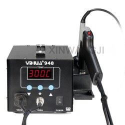 YIHUA 948 potężny rozlutownica elektryczna stacja lutownicza na gorące ssanie lutownica elektryczna stacja lutownicza