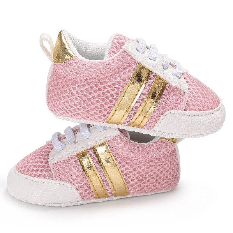 Tennis-Shoes First-Walkers Newborn Baby-Girl Soft-Soles Non-Slip Toddler Mesh Summer