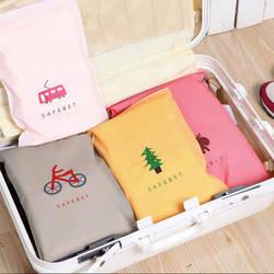 Модные дорожные сумки для хранения на молнии сумка-Органайзер для одежды нижнее белье носки обувь сумка для хранения хозяйственная 305