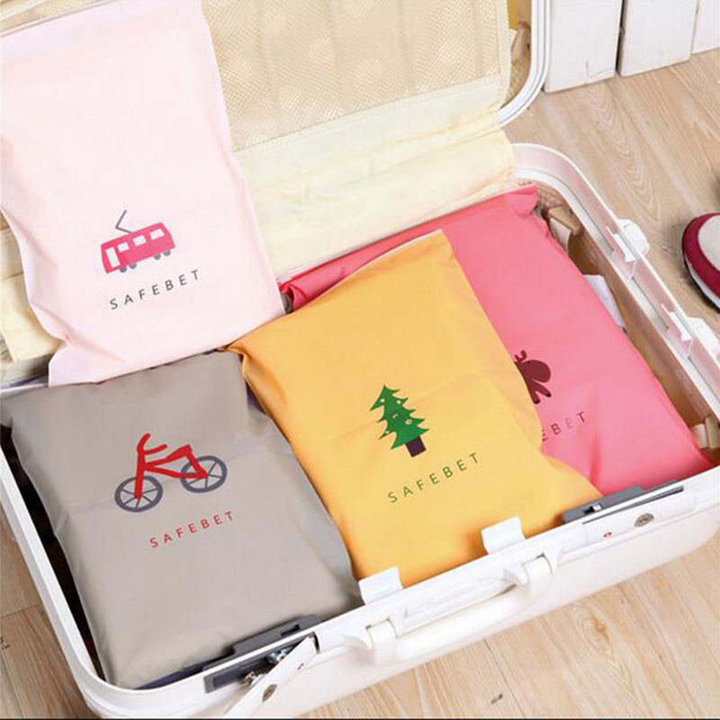Fashion Travel Storage Bags Zipper Organizer Bag For Clothing Underwear Socks Shoes Storage Bag Housekeeping Free Shipping 305