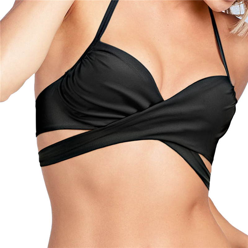 Bikini De Gran Tama/ñO para Mujer Conjunto Retro Push Alto De Dos Piezas De Lunares Gruesos Impresos Traje De Ba/ñO Ropa De Playa