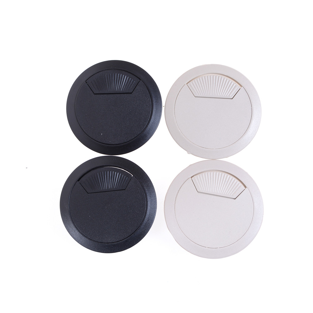 New 53mm Computer desk Wire hole cover Grommet Desk Table Cable Tidy ...