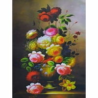 Diamond Embroidery Kits Cross Stitch Flower Home Decor Diamond Painting Mosaic DIY Pictures Paint Needlework Gift