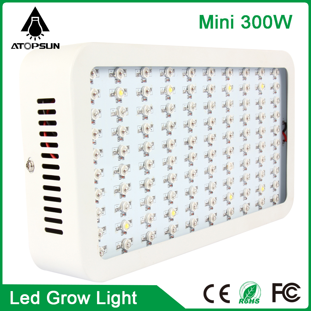 2pcs Mini 300W LED Grow Light Full Spectrum Lamp led for plants Indoor and Flower Phrase High Yield grow box hydroponics system 90w ufo led grow light 90 pcs leds for hydroponics lighting dropshipping 90w led grow light 90w plants lamp free shipping
