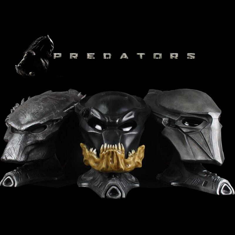 1:1 스케일 Alien vs Predator Falconer Predator Berserker 프레데터 늑대 프레데터 마스크 statueFurnishing 기사 착용하지-에서액션 & 장난감 숫자부터 완구 & 취미 의  그룹 1